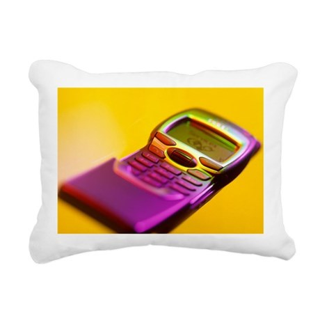 WAP mobile telephone - Rectangular Canvas Pillow