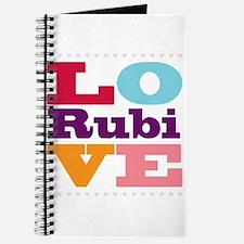 I Love Rubi Journal