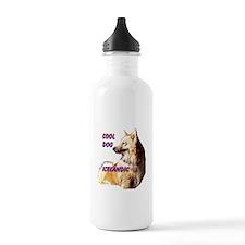 cool dog icelandic Water Bottle