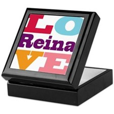 I Love Reina Keepsake Box