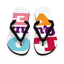 I Love Quinn Flip Flops
