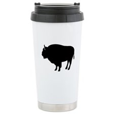 Bison buffalo Travel Mug