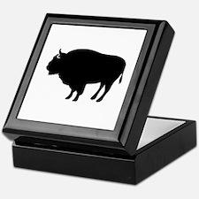 Bison buffalo Keepsake Box