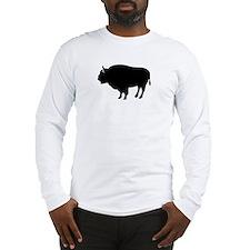Bison buffalo Long Sleeve T-Shirt