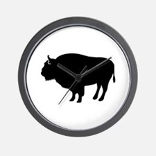 Bison buffalo Wall Clock