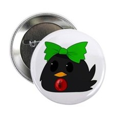 "Bird Okuu 2.25"" Button"
