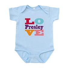 I Love Presley Infant Bodysuit
