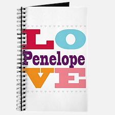 I Love Penelope Journal