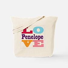 I Love Penelope Tote Bag