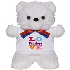 I Love Penelope Teddy Bear