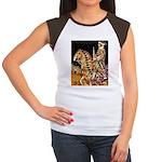 COMMANDER ON HORSEBACK Women's Cap Sleeve T-Shirt