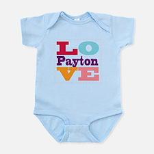 I Love Payton Infant Bodysuit