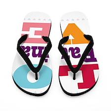I Love Paulina Flip Flops