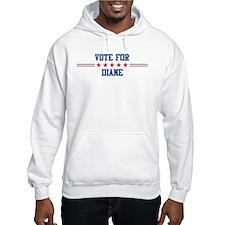 Vote for DIANE Hoodie Sweatshirt