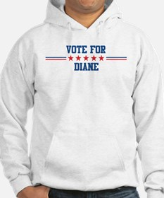 Vote for DIANE Hoodie Sweatshirt