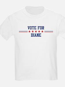 Vote for DIANE Kids T-Shirt