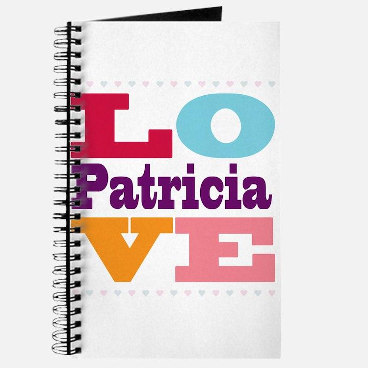 I Love Patricia Journal