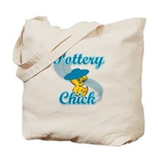 Pottery Chick #3 Tote Bag