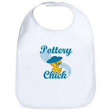 Pottery Chick #3 Bib
