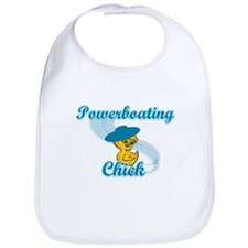 Powerboating Chick #3 Bib