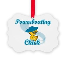 Powerboating Chick #3 Ornament