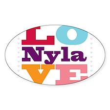 I Love Nyla Decal