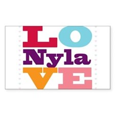 I Love Nyla Decal