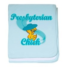 Presbyterian Chick #3 baby blanket