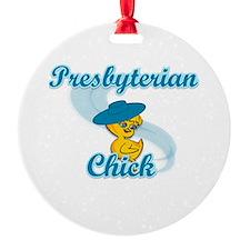 Presbyterian Chick #3 Ornament