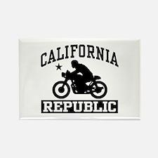 California Cafe Racer Rectangle Magnet