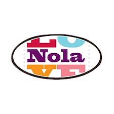 I Love Nola Patches