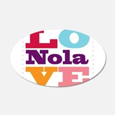 I Love Nola Wall Decal