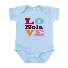I Love Nola Infant Bodysuit