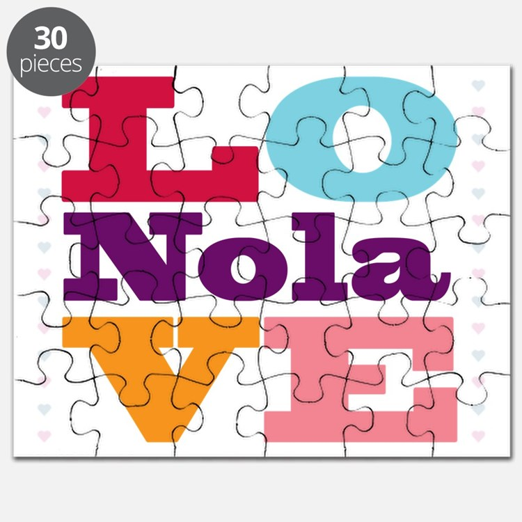 I Love Nola Puzzle