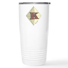 kappa_diamond k.jpg Travel Mug