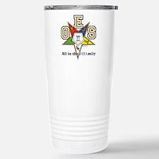 OES PHAMILY.jpg Thermos Mug