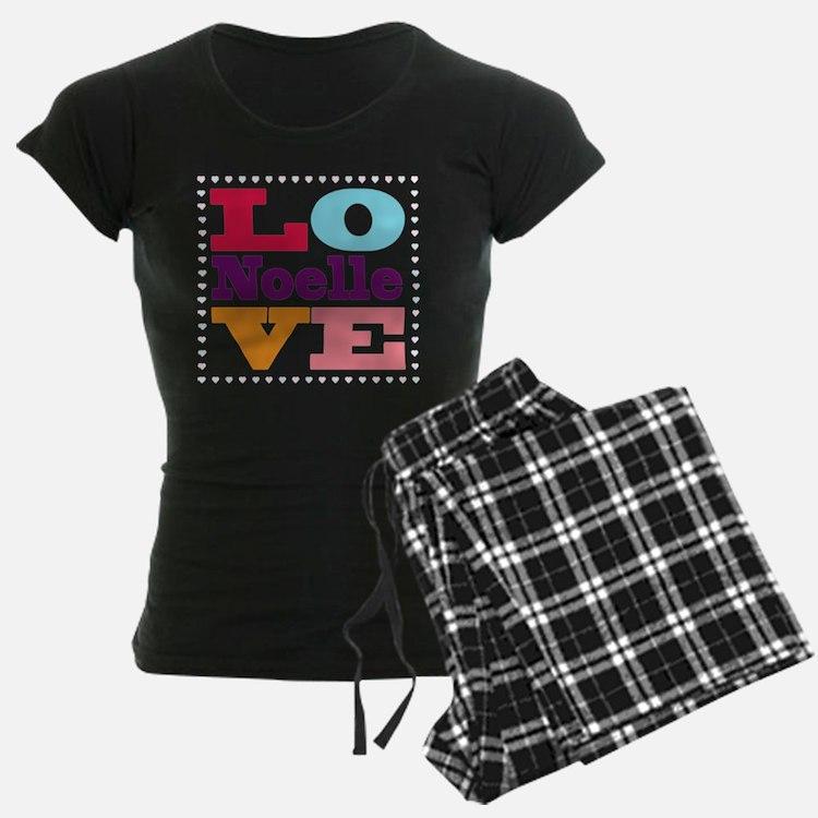 I Love Noelle Pajamas