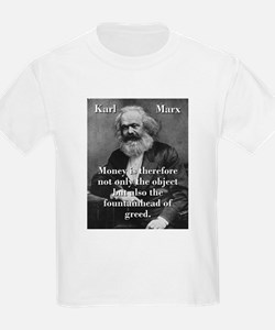 Money Is Therefore - Karl Marx T-Shirt