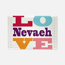 I Love Nevaeh Rectangle Magnet