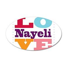 I Love Nayeli Wall Decal