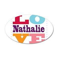 I Love Nathalie Wall Decal