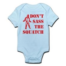 dont sass the squatch red Onesie