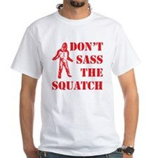dont sass the squatch red Shirt