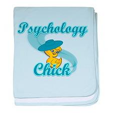 Psychology Chick #3 baby blanket