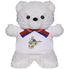 American Sheepdog Teddy Bear
