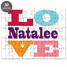 I Love Natalee Puzzle