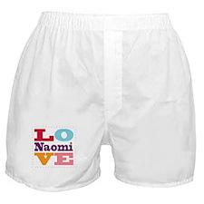 I Love Naomi Boxer Shorts
