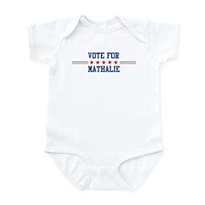 Vote for NATHALIE Infant Bodysuit