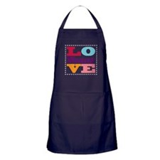 I Love Nancy Apron (dark)