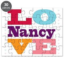 I Love Nancy Puzzle